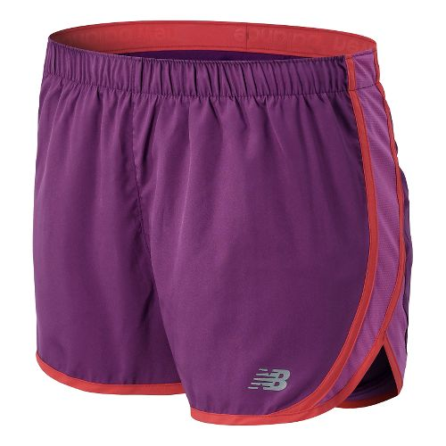 Womens New Balance Accelerate 2.5 Lined Shorts - Imperial Purple XS