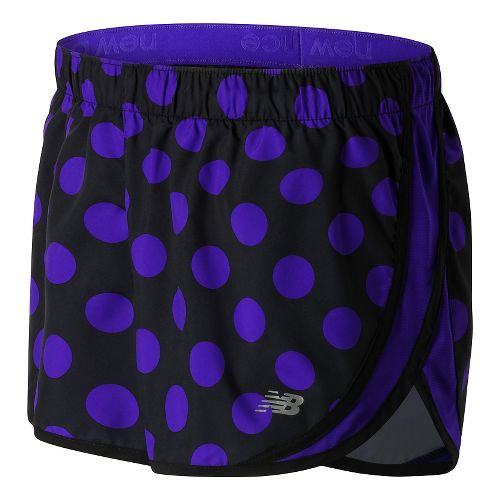 Womens New Balance Accelerate 2.5'' Printed Lined Shorts - Spectral S