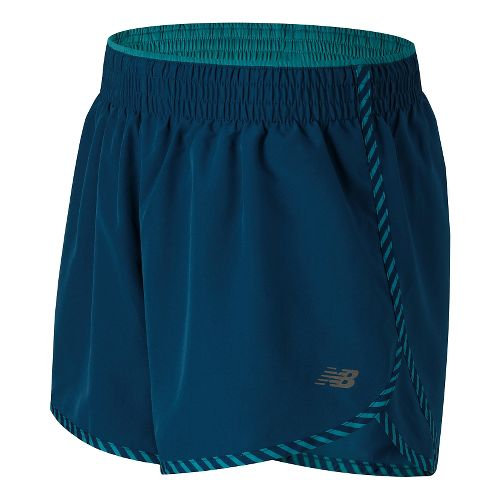 Womens New Balance Accelerate 5 Lined Shorts - Deep Water L