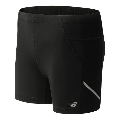 Womens New Balance Accelerate 4 Fitted Unlined Shorts - Black L