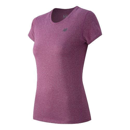 Women's New Balance�Heathered Short Sleeve Tee