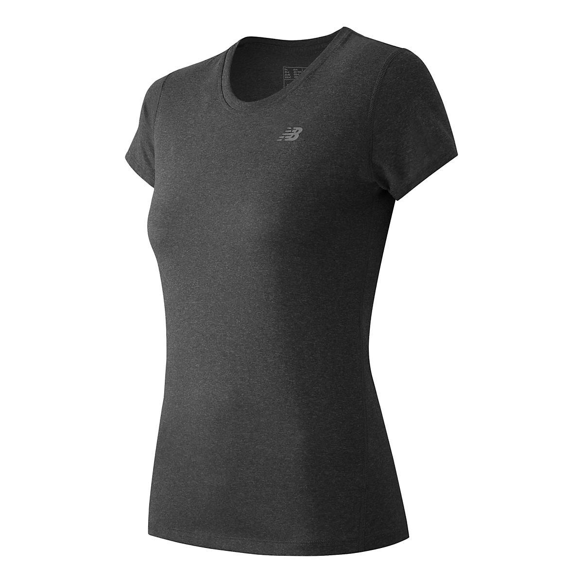 Women's New Balance�Heathered Short Sleeve Tee