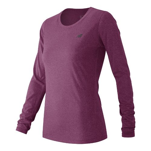 Women's New Balance�Heathered Long Sleeve Tee