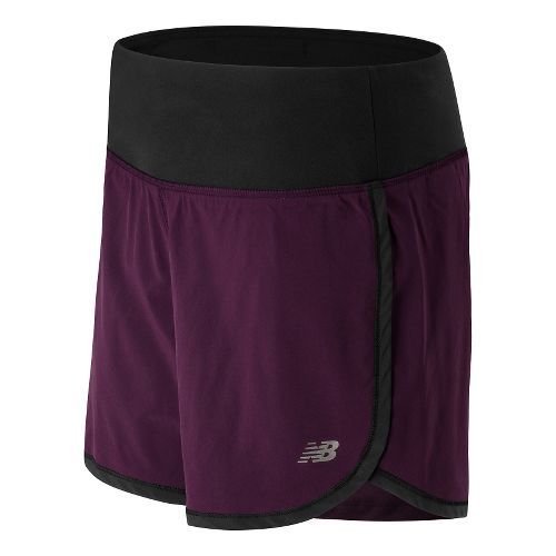 Womens New Balance Impact 5 2 in 1 Shorts - Outer Space Multi XL