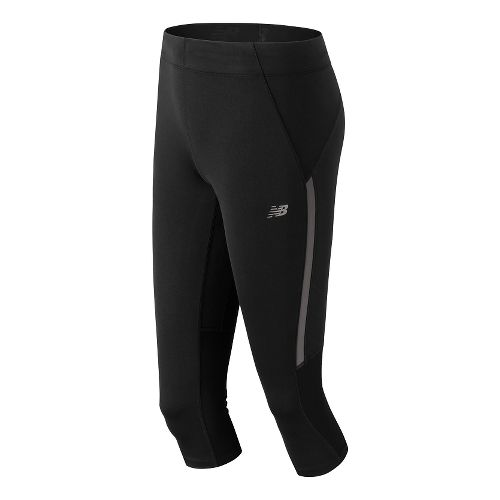 Womens New Balance Impact Capri Pants - Black L
