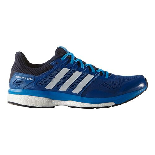 Mens adidas Supernova Glide 8 Running Shoe - Equipment Blue/Navy 9