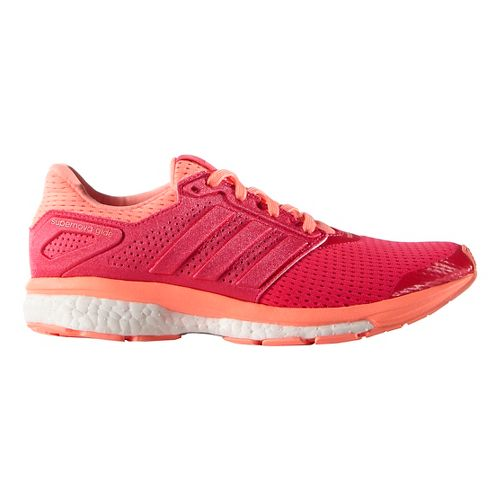 Womens adidas Supernova Glide 8 Running Shoe - Sun Glow/Shock Red 6.5