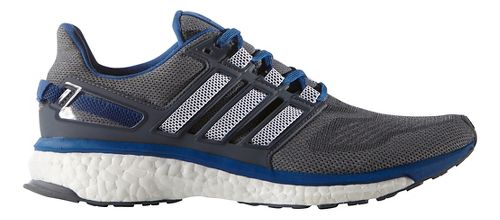 Mens adidas Energy Boost 3 Running Shoe - Grey/Equipment Blue 12