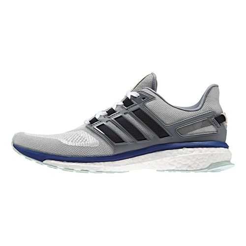 Mens adidas Energy Boost 3 Running Shoe - Grey/Ink/Green 7