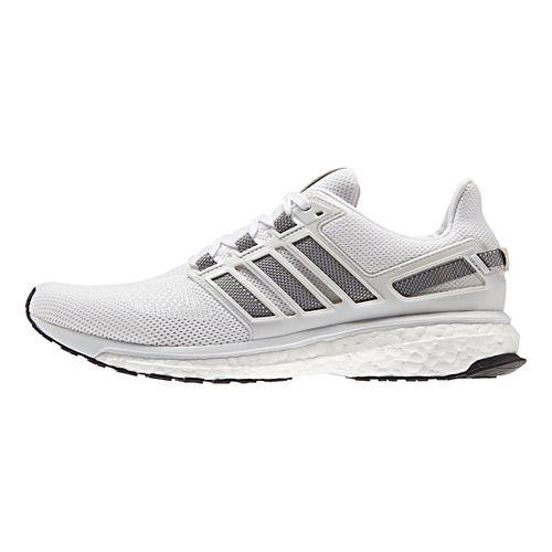 Mens adidas Energy Boost 3 Running Shoe - White/Grey/White 7.5