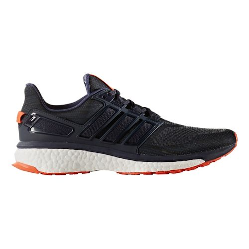 Mens adidas Energy Boost 3 Running Shoe - Navy/Red 7.5