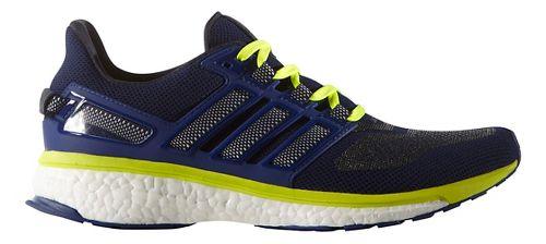 Mens adidas Energy Boost 3 Running Shoe - Navy/Yellow 12