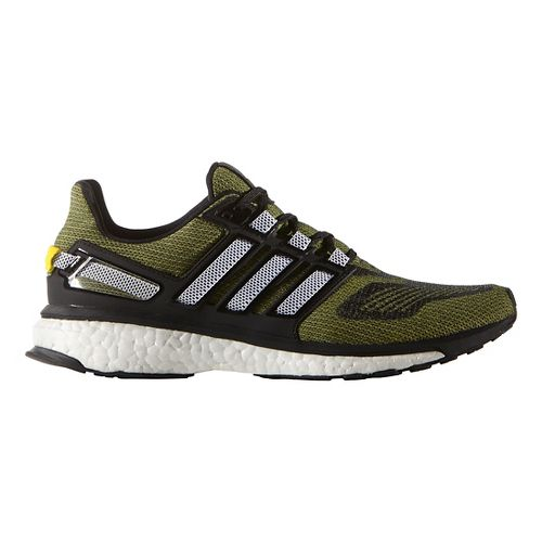 Mens adidas Energy Boost 3 Running Shoe - Shock Yellow/Black 8