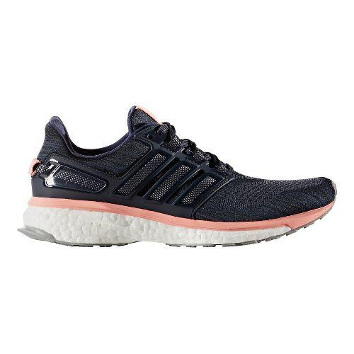 Womens adidas Energy Boost 3 Running Shoe - Midnight Grey/Pink 9.5