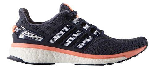 Womens adidas Energy Boost 3 Running Shoe - Purple/Sun Glow 6.5