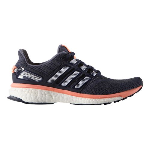 Womens adidas Energy Boost 3 Running Shoe - Midnight Grey/Pink 9