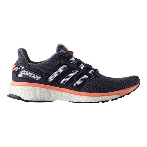 Womens adidas Energy Boost 3 Running Shoe - Purple/Sun Glow 9