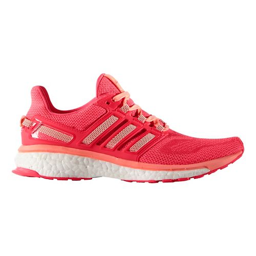Womens adidas Energy Boost 3 Running Shoe - Sun Glow/Pink 7