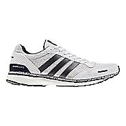 Mens adidas Adizero Adios 3 Running Shoe - White Legend/Ink 12.5