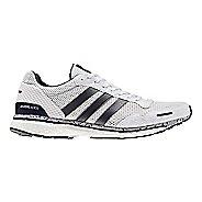 Mens adidas Adizero Adios 3 Running Shoe - White Legend/Ink 9.5