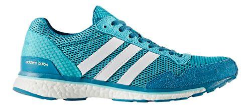 Womens adidas Adizero Adios 3 Running Shoe - Aqua/White 7.5