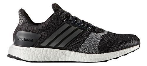 Mens adidas Ultra Boost ST Running Shoe - Black/White 9