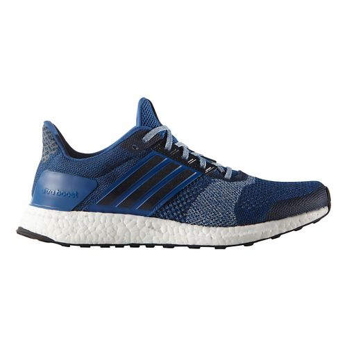 Mens adidas Ultra Boost ST Running Shoe - Equipment Blue/Navy 8