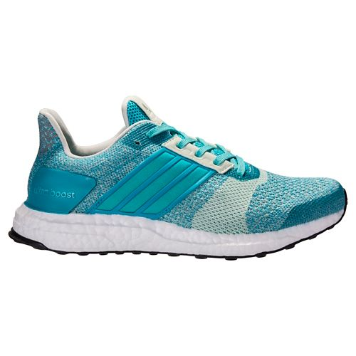 Womens adidas Ultra Boost ST Running Shoe - Grey/Purple 10