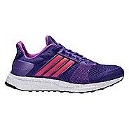 Womens adidas Ultra Boost ST Running Shoe - Purple/Red 10.5