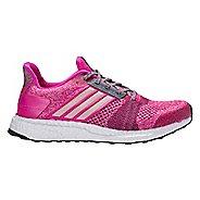 Womens adidas Ultra Boost ST Running Shoe - Shock Pink 11