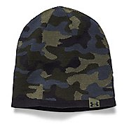 Mens Under Armour 2-Way Camo Beanie Headwear