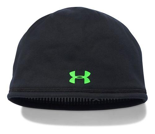 Mens Under Armour Elements Beanie 2.0 Headwear - Black
