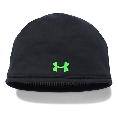 Mens Under Armour Elements Beanie 2.0 Headwear - Brilliant Blue