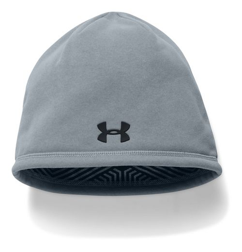 Mens Under Armour Elements Beanie 2.0 Headwear - Steel