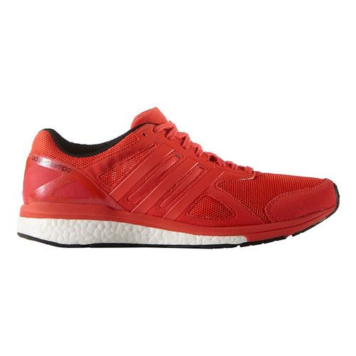 Mens adidas Adizero Tempo 8 Running Shoe - Solar Red 10.5