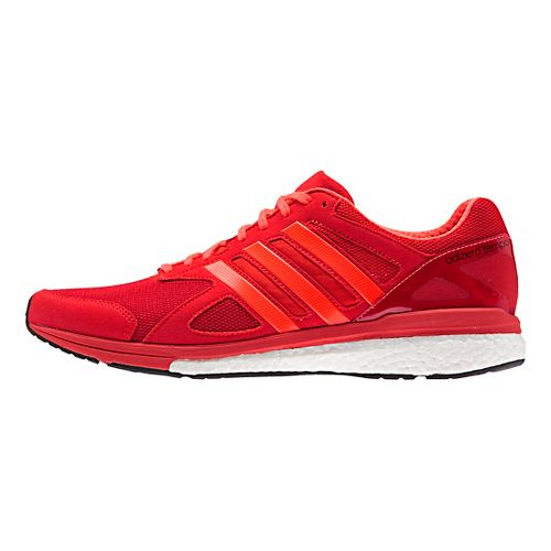 Mens adidas Adizero Tempo 8 Running Shoe - Solar Red/Black 12
