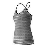 Womens New Balance Strappy Long Bra Tank Technical Tops