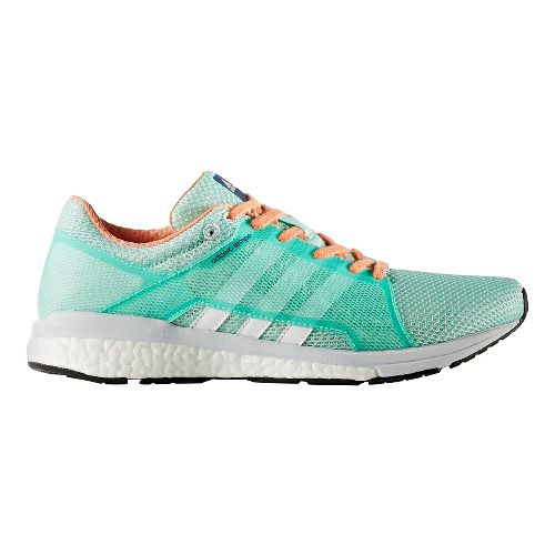 Womens adidas Adizero Tempo 8 SSF Running Shoe - Easy Green/White 10.5