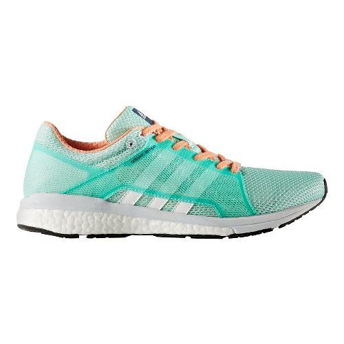 Womens adidas Adizero Tempo 8 SSF Running Shoe - Easy Green/White 9.5