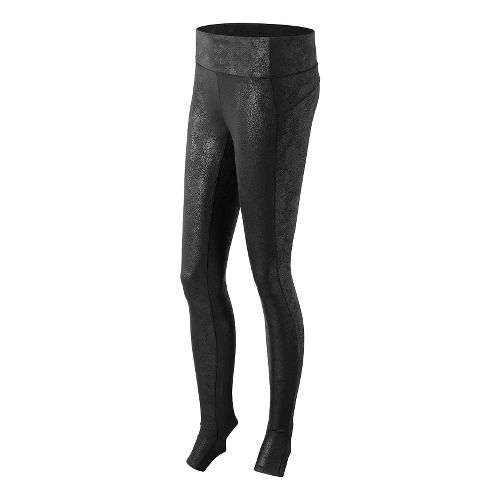 Womens New Balance Studio Tights & Leggings - Black Multi L