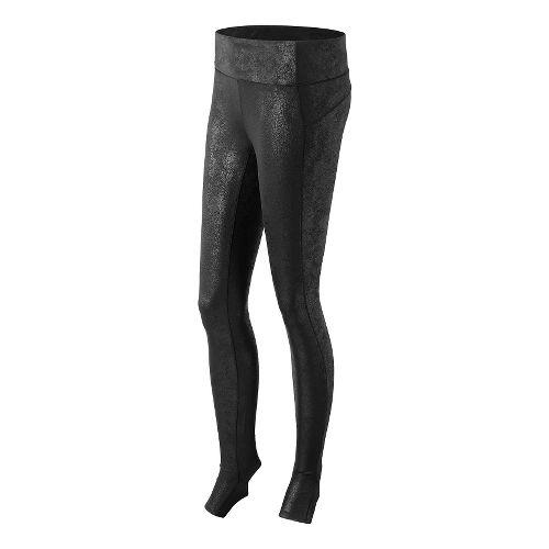 Womens New Balance Studio Tights & Leggings - Black Multi M