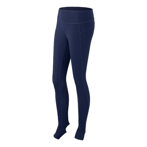 Womens New Balance Studio Full Length Tights - Pigment S
