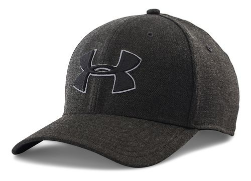 Mens Under Armour Closer 2.0 Cap Headwear - Black/Black L/XL
