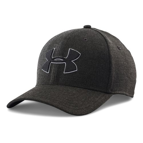 Mens Under Armour Closer 2.0 Cap Headwear - Black/Black L/XL