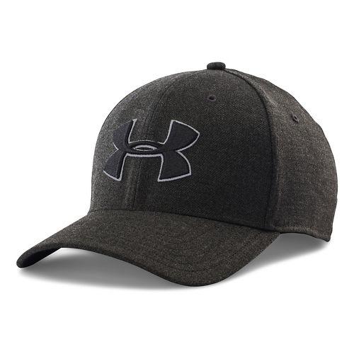 Mens Under Armour Closer 2.0 Cap Headwear - Black/Black M/L