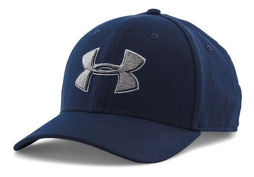 Mens Under Armour Closer 2.0 Cap Headwear - Academy/Steel M/L