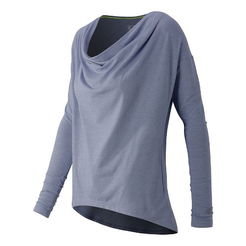 Women's New Balance�Draped Layer Long Sleeve Top