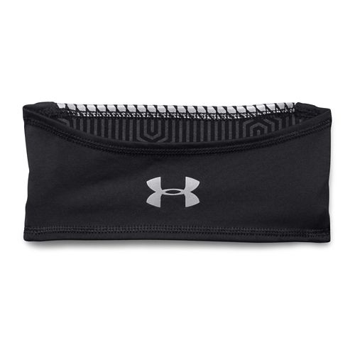 Mens Under Armour ColdGear Infrared Bonded Run Band Headwear - Black
