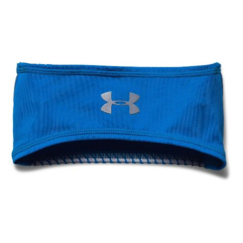 Mens Under Armour Coldgear Infrared Bonded Run Band Headwear - Blue Jet