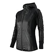 Womens New Balance Heat Hybrid Warm Up Hooded Jackets